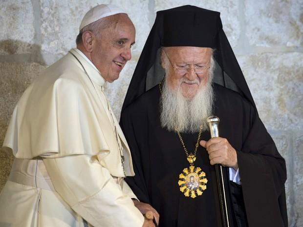 papa francisco em jerusalem