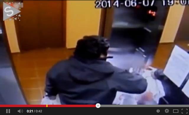 José Vergara, de 31 anos, teve ferimentos na cabeça e nas pernas - Reprodução YouTube