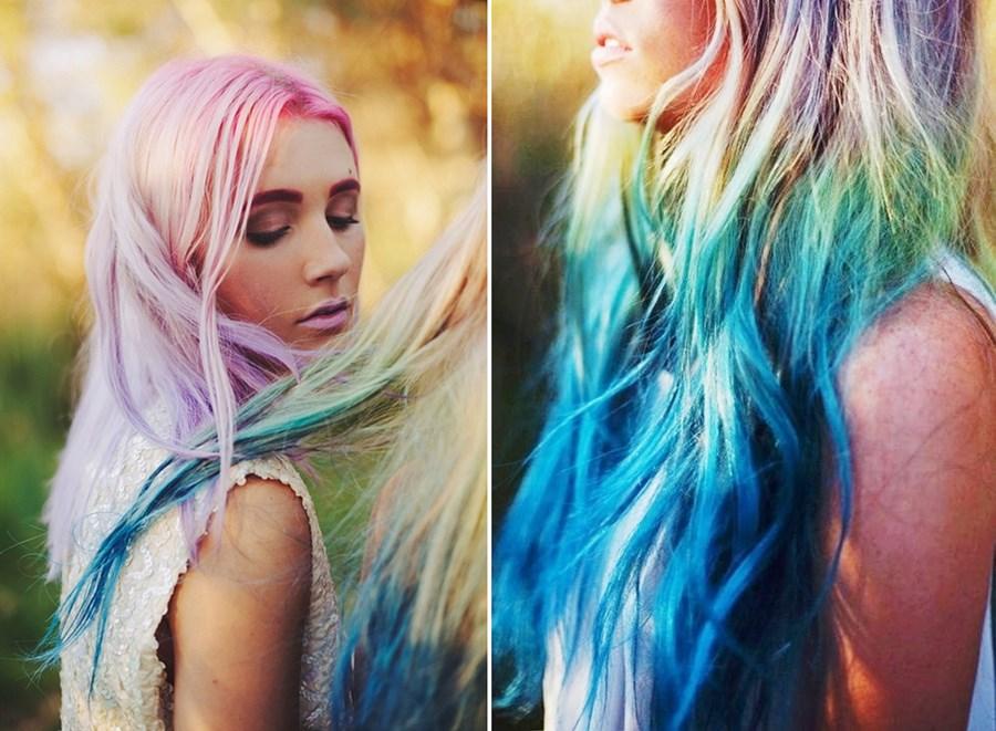 Hair-Chalk-–-Como-fazer-mechas-coloridas-no-cabelo-com-giz-pastel-cabelos-loiros