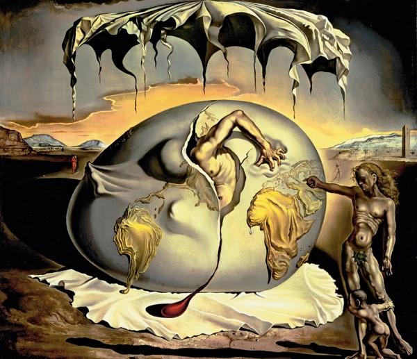 """Menino Geopolítico Observando o Nascimento do Novo Homem"""", de 1943"""
